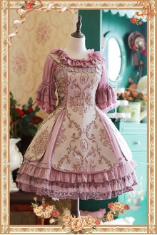 Infanta Windsor's Afternoon Tea  Stereo Relief Classic Lolita JSK