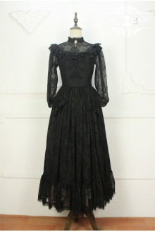 Vintage Palace Gothic Miss Point Gothic Lolita Dresses (Only Tailored)