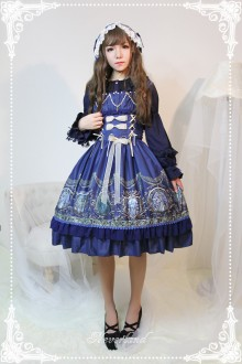 Neverland Raphael's Song Bead Chain Classic Lolita JSK Dress 4 Colors