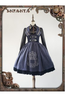 Infanta Magic Array Corset Embroidery Classic Gothic Lolita JSK PreOrder