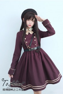 To Alice Vintage College Style Sweet Lolita Dress PreOrder