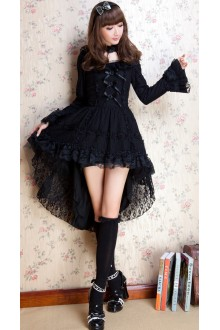 GLP Princess Flouncing Lace Punk Gothic Lolita Dress 2 Colors