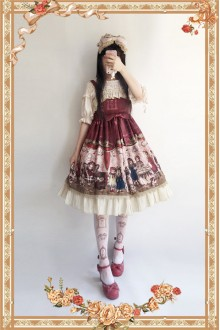 Infanta Doll House Sweet Lolita JSK Dress 3 Colors