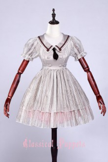 Puppets and Doll Tabby Kitty Sweet Lolita OP Dress