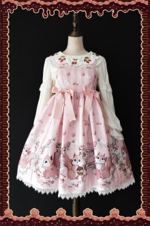 Infanta Three Little Squirrels Sweet Lolita JSK Dress 3 Colors
