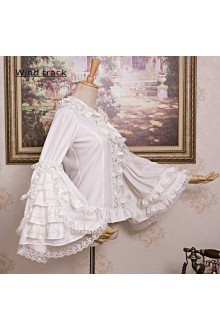 Lace Gorgeous Trumpet Sleeves Long Sleeves Lolita Blouse