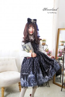 Neverland Prague Bridge Sweet Lolita JSK Dress