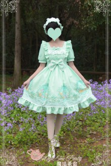 Magic Tea Party Son Of The Wind Sweet Lolita OP Dress 2 Colors