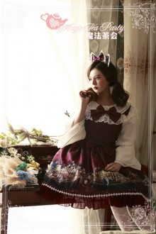 Magic Tea Party Son Of The Wind Sweet Lolita JSK Dress 2 Colors