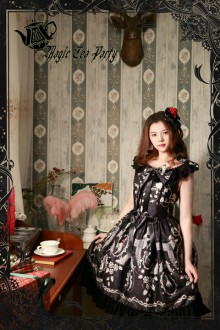 Magic Tea Party Black Seven Sins Classic Lolita JSK Dress