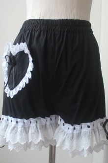 Lace Bloomers Lolita Black Bloomers
