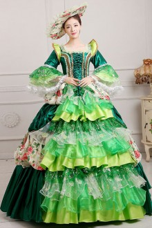 Lace Palace Style Gorgeous Sequins Lolita Prom Dress