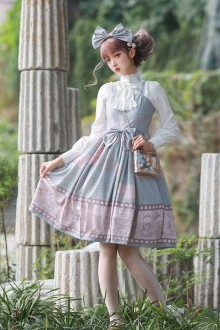 "Original Design ""Detective Notes"" Sweet Lolita JSK Dress 2 Colors"