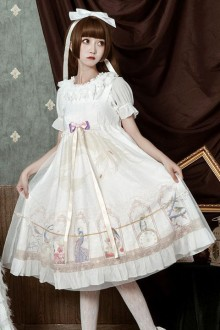"Original Design ""Chinese Style"" Sweet Lolita JSK Dress 2 Colors"