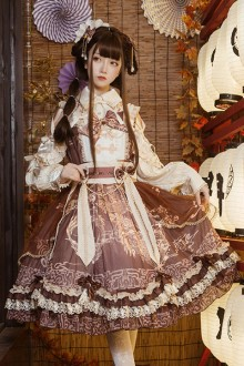 "Original Design ""Yuelong Poetry"" Classic Lolita JSK Dress 3 Colors"