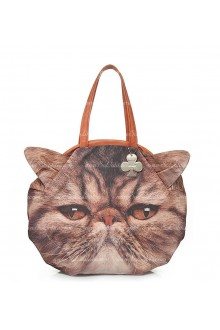 Lolita Sweet Cat Printed Lolita Shoulder Handbag