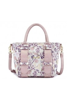Lolita Purple Lovely Collision Color Flowers Bag