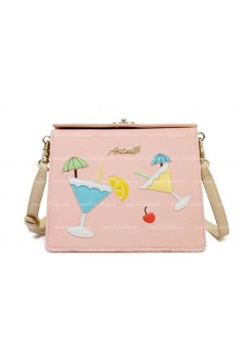 Lolita Vintage Pink Summer Casual Bag
