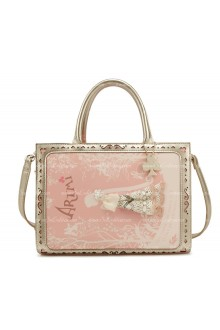 Lolita Pink Lovely Rapunzel Fairy Tale Bag