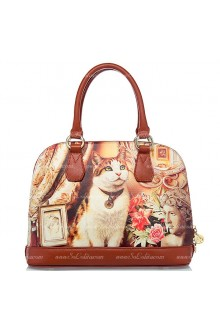 Lolita Vintage Sweet Cat Cartoon Bag