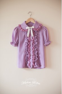 Fruit Color Chiffon Collar HMHM Lolita Shirt