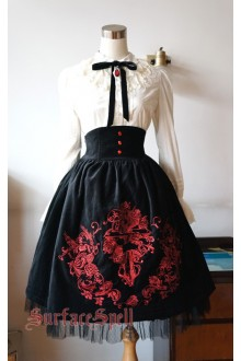 Judgment Day Original Embroidery Surface Spell Gothic Lolita SK