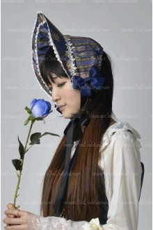 Sweet Stained Glass Souffle Song Lolita Bonnet