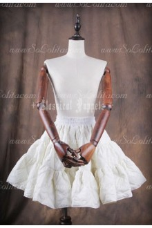 WINTER IS COMING A Line Classical Puppets Short Cotton-padded Jacked Petticoat Outside
