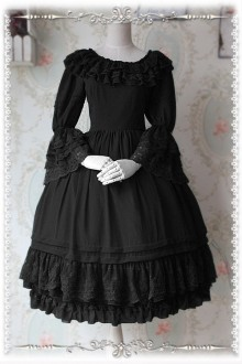 Infanta Elegant Tea Party Inside Wear Lolita OP Dress 7 Colors