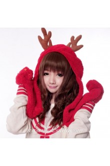 Brown Fluffy Small Volumes Sweet Roleplay Lolita Wig